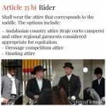 Reglement rider