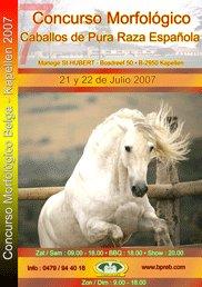 CM Kapellen 2007 affiche